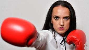 Gabriela Timar ist die erste Profiboxerin des Boxclub Basel.