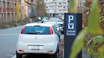 Seit 1.Januar gelten in Baden neue Parkplatzpreise. Die Tarife in den Aussenquartieren sind tiefer als zunächst geplant.