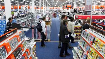 Saturn heisst bald Media Markt oder verschwindet ganz. Letzteres passiert im Tivoli in Spreitenbach.