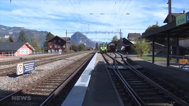 Leissigen will Regionalzug-Haltestelle behalten