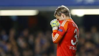Timo Hildebrands Riesen-Bock im Spiel zwischen Schalke und Chelsea