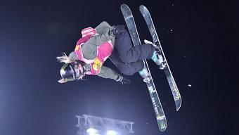 Giulia Tanno (22) holt sich beim ersten Big-Air-Event des Weltcups den Sieg. (Archiv)
