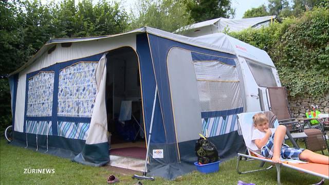 Camping wieder voll im Trend