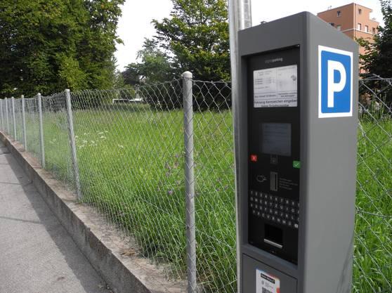 Die Parkuhren in Grenchen werden nach und nach durch das neue System ersetzt.