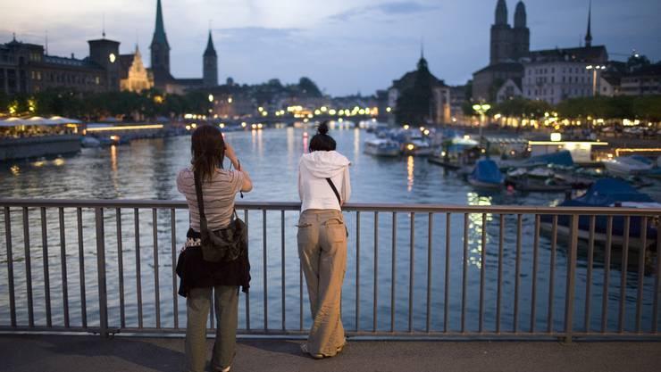 In Zürich sind die Hotels besonders teuer.