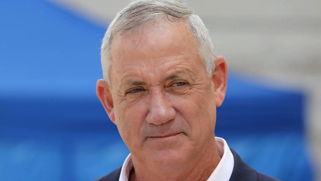 Israelischer Präsident beauftragt Benny Gantz mit Regierungsbildung