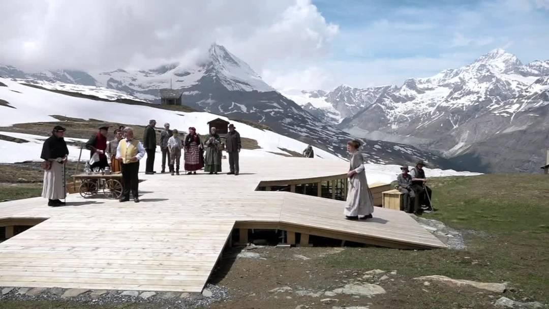 Zermatter Freilichtspiele: Frauenpower am Matterhorn