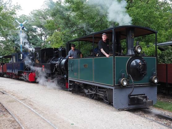 Impressionen vom Grossbahnfest.