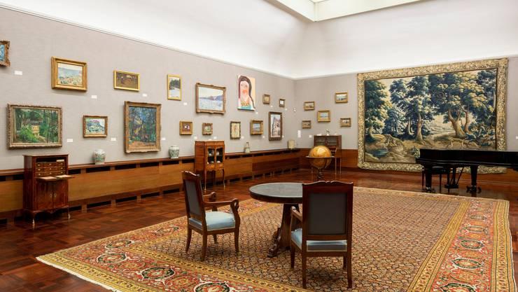 In der aktuellen Ausstellung «Herzkammer – 30 Jahre Museum Langmatt», zeigt das Impressionisten-Museum in Baden (fast) seine gesamten Schätze.