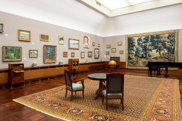 Die Jubiläumsausstellung «Herzkammer »im Museum Langmatt im Baden. Das Haus ist 30 Jahre alt geworden.