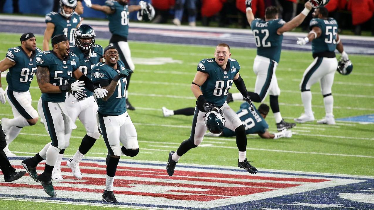 Philadelphia Eagles gewinnen Super Bowl