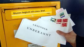 Absender unbekannt: In Kriegstetten werden anonyme Briefe an Kommissionsmitglieder verschickt. (Symbolbild)