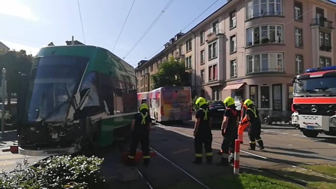 Tramunfall Basel