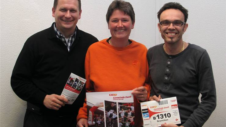 Gerd Frera, Susanne Saladin und Ralf Graf sind zuversichtlich.