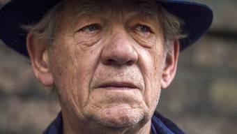 """Oscar-Preisträger und """"Gandalf""""-Darsteller Sir Ian McKellen wird im nächsten Jahr 80. Den Geburtstag nimmt er zum Anlass einer Theatertournee. Im Rahmen der geplanten Soloshows wird er live Fans auf die Bühne bitten. (Archivbild)"""