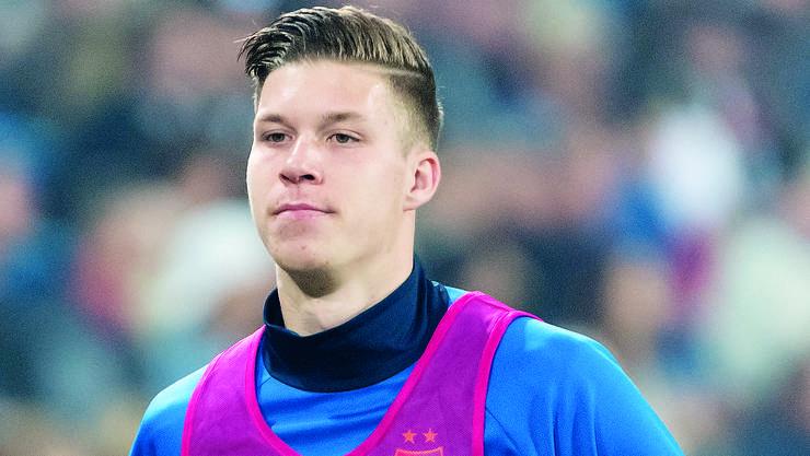 In neun seiner elf Einsätze für den FC Basel kam Cedric Itten von der Bank.