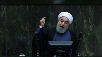 Die Hardliner versuchen, juristisch gegen Präsident Rohani vorzugehen. AP/Keystone