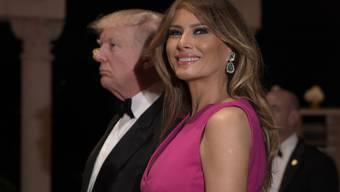 """Ihre Marke """"Melania"""" sei viele Millionen Dollar Wert, ist Donald Trumps Ehefrau und First Lady Melania Trump überzeugt. (Archivbild)"""