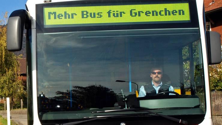 Vorerst nicht noch mehr Bus für Grenchen. Eine Linie zum Chappeli habe nicht genug Passagiere, meint die Stadt.