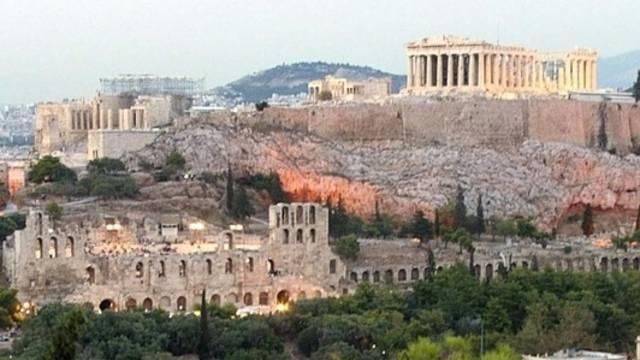 Blick auf die Akropolis in Athen (Archiv)