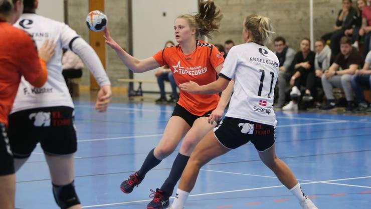 Alina Stähelin und ihr Team konnten wichtige Punkte erkämpfen.