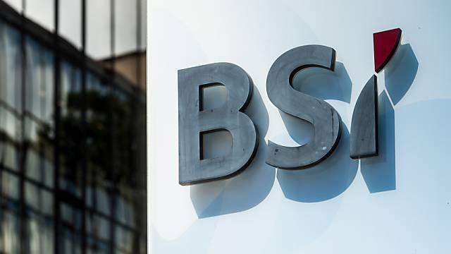 Die Tessiner Bank BSI hat einen Deal mit den US-Steuerbehörden geschlossen. Der Sitz der Bank in Lugano. (Symbolbild)