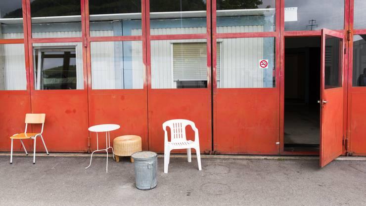 Asylunterkunft im ehemaligen A3-Werkhof in Frick.