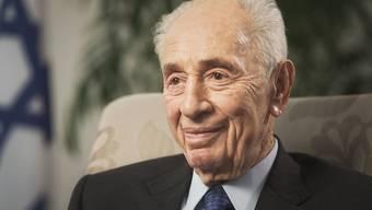 Der 93-jährige israelische Ex-Präsident Shimon Peres ist wegen einem Schlaganfall im Spital. (Archiv)