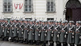 Soldaten in Wien: Die Stimmberechtigten sagten klar Ja zur Beibehaltung der Wehrpflicht