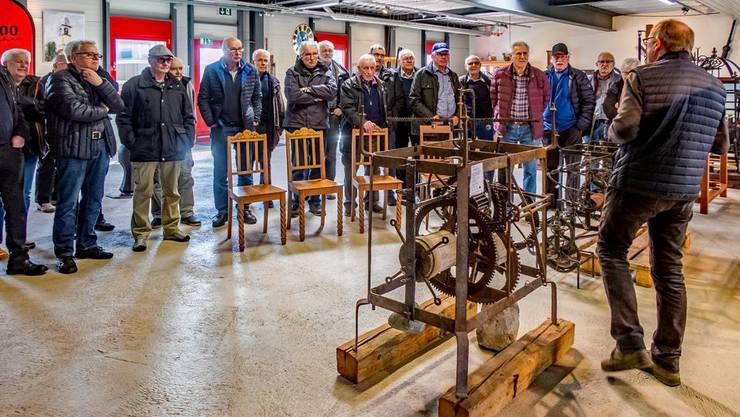 Besuch im Museum der Firma Muff Kirchturmtechnik AG in Triengen