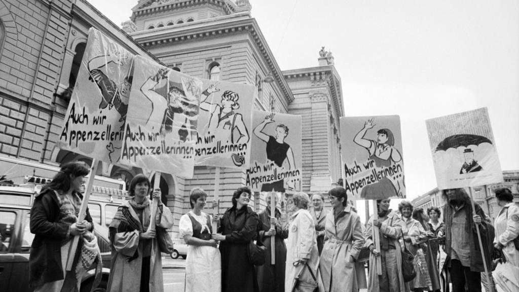 30 Jahre Frauenstimmrecht: Ein Rückblick