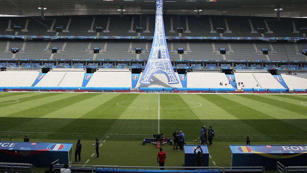 Im Stade de France wird heute Abend die EM eröffnet