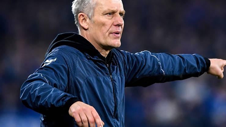 Christian Streich hat beim SC Freiburg auch in Zukunft das Sagen