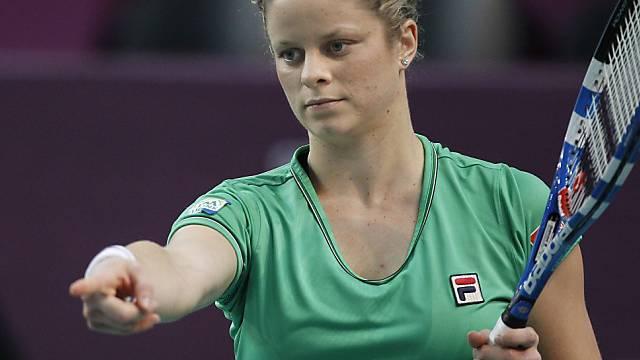 Clijsters thront ab nächster Woche in der Weltrangliste auf Platz 1