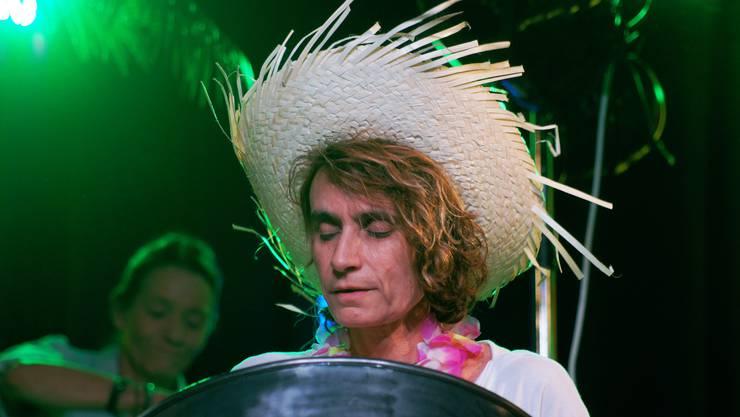 Nicole Kupfer von der Steelband Swiss Jungle Drummers