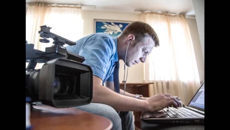 Undatiertes Bild von Igor Kornelyuk, einem der beiden getöteten russischen Reporter.