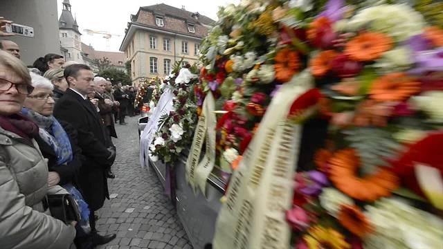 Abschied von Sternekoch Benoît Violier in Lausanne