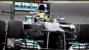 Bestzeit am ersten Testtag in Montmelo für Nico Rosberg.