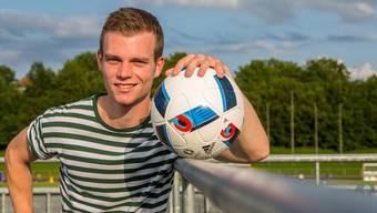 Lukas Hoevel will als neuer Captain beim FC Lenzburg auch ein Vorbild sein.