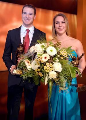 Dario Cologna und Giulia Steingruber sind die Sportler des Jahres