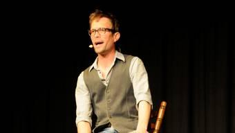 Kabarettist Ingo Börchers.  khg