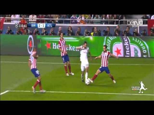 Real Madrid schlägt Atletico Madrid im UEFA Champions League Final 2014 4:1 nach Verlängerung.