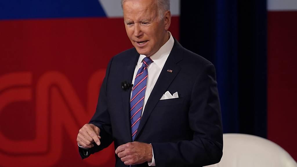 Biden: Klimawandel eine «existenzielle Bedrohung für die Menschheit»