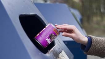 Bei Altglas und Dosen ist die Recycling-Quote besonders hoch