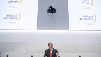 Am 4. September präsentierte CVP-Präsident Gerhard Pfister den neuen Parteinamen.