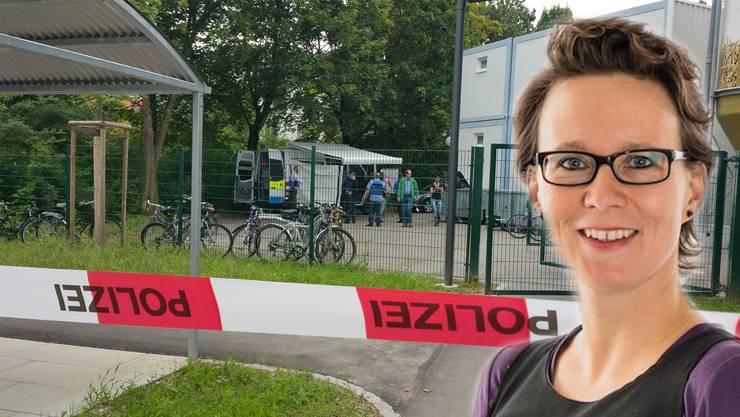 Tötungsdelik in Asylunterkunft: Psychologin Sara Michalik über die Auswirkungen einer unterirdischen Unterkunft auf ihre Bewohner.