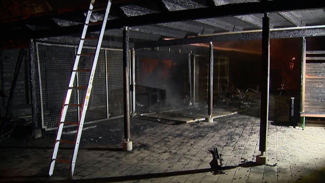 Brand auf Schulareal in Schaffhausen