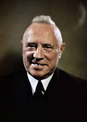 Rudolf Minger ist der erste Bauernvertreter im Bundesrat.