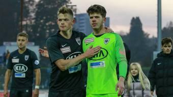 Fussball, Challenge League, 14. Runde,  FC Aarau - FC Vaduz (10. November. 19)