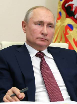 Nawalnys Gegenspieler: Der russische Präsident Wladimir Putin spricht den Namen des Oppositionellen nicht aus.